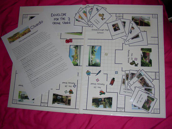 Neighbours Cluedo from Art of Neighbours